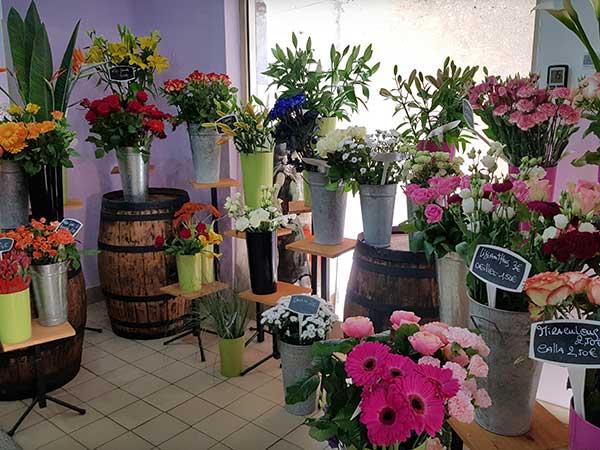 Bar à fleurs Montalieu - Fleurs coupées