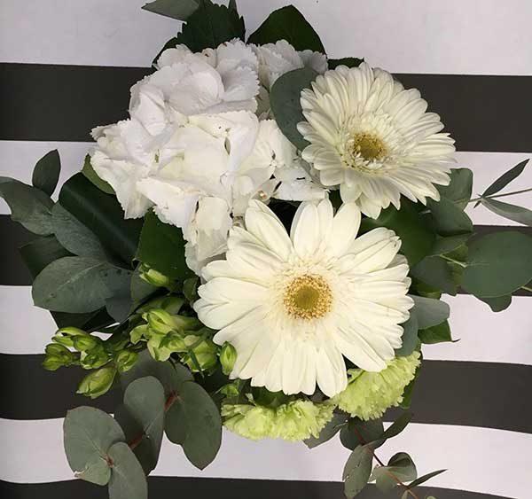 bouquet rond mojito