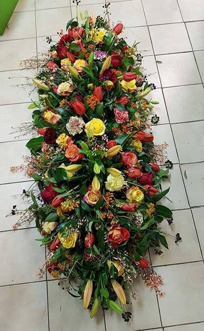 Bar à fleurs Montalieu - gerbe deuil fleurie