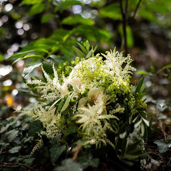 Bar à fleurs Montalieu - Bouquet de mariée nature