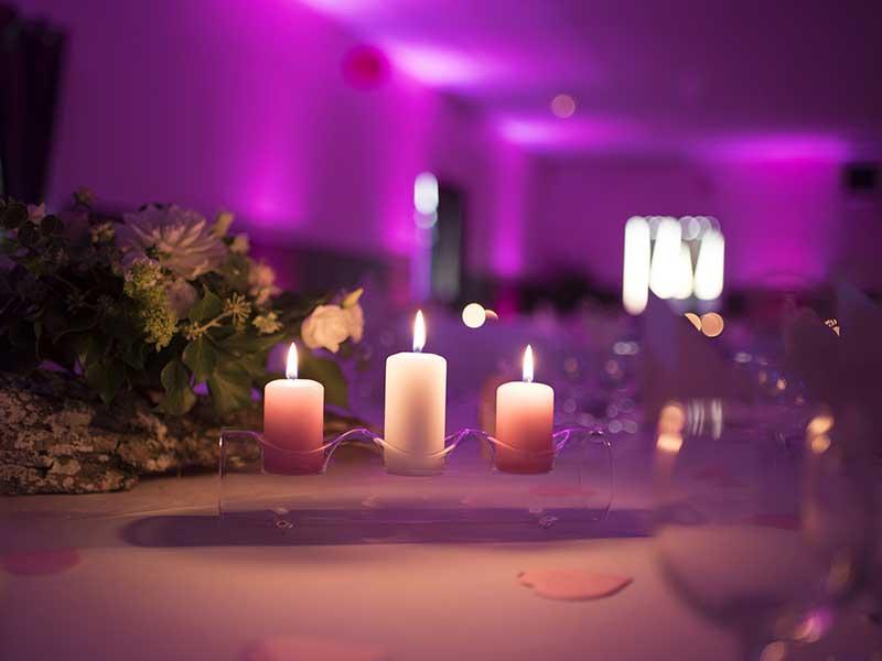 Bar à fleurs Montalieu - décor de table mariage