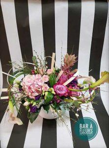 Bar à fleurs Montalieu - Composition anniversaire