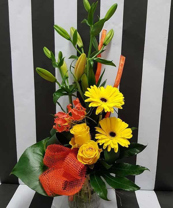 bouquet hauteur punch