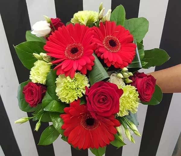 bouquet rond cosmopolitan