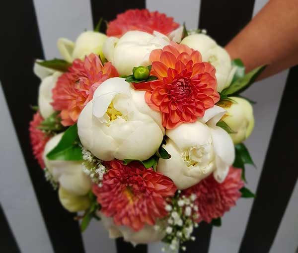 bouquet rond punch