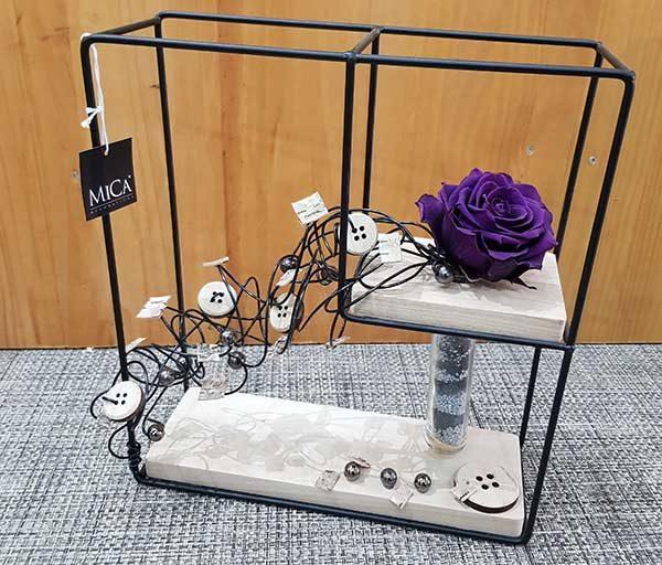 rose eternelle violette