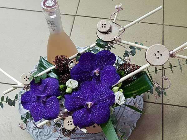 Bar à fleurs Montalieu - composition originale