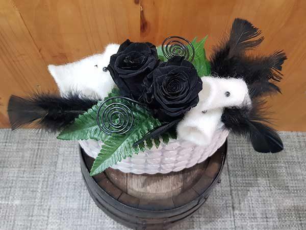 rose eternelle noire