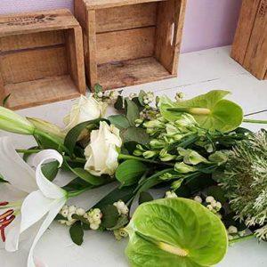 brassée de fleurs mojito